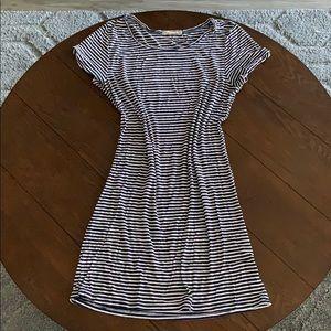 Heart & Hips striped T-shirt dress